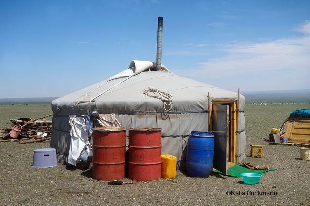 Foto Mongolische Jurte von Katja Brinkmann