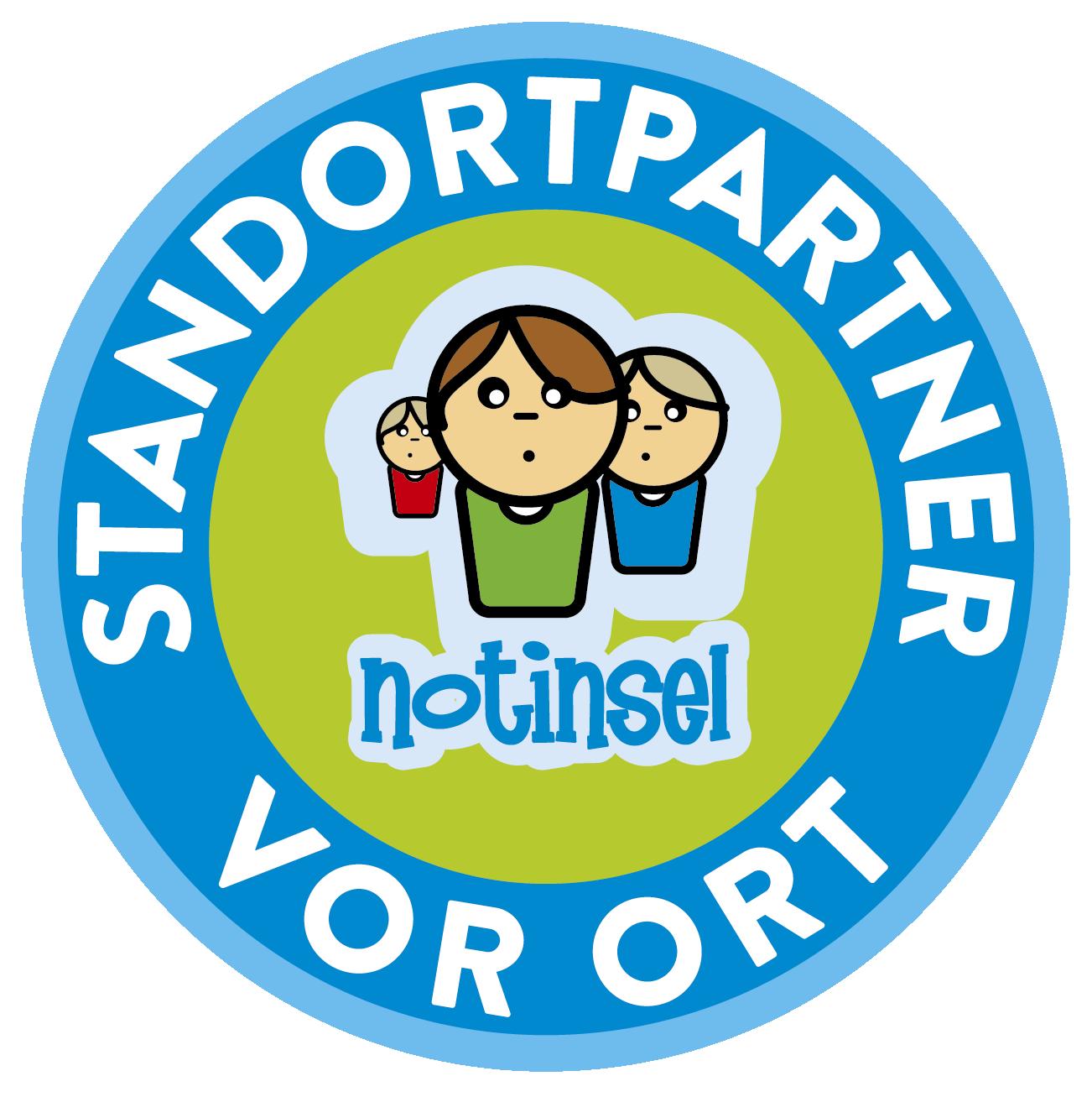 Logo Notinsel Projekt Standortpartner vor Ort