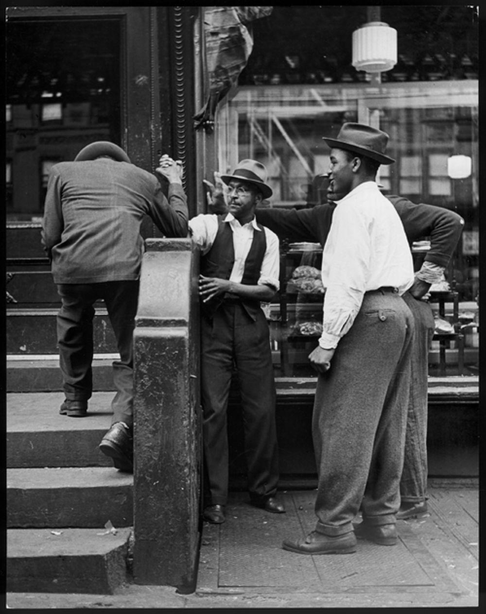 Ausstellungsfoto von Andreas Feininger
