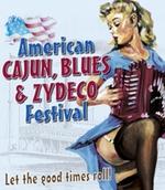 Tourplakat im Amerikanischen Cajun Stil
