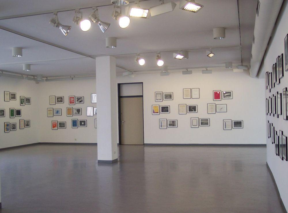 Der Ausstellungsraum von Euan MacDonald