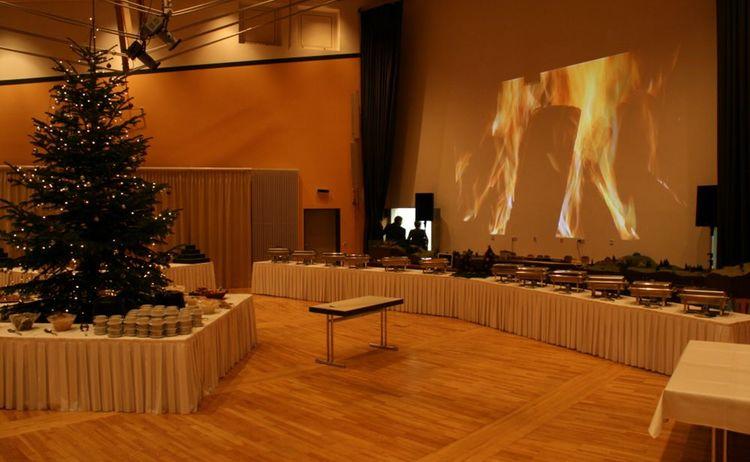 Grosser Saal Weihnachtsfeier