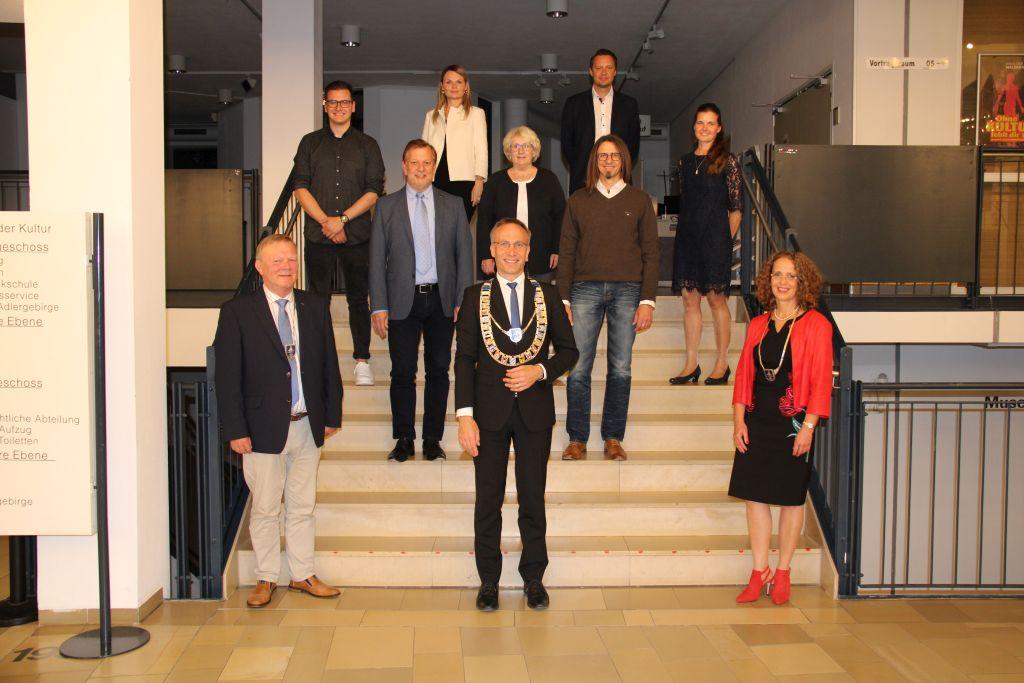 Gruppenfoto der Neue Stadtrat Referenten