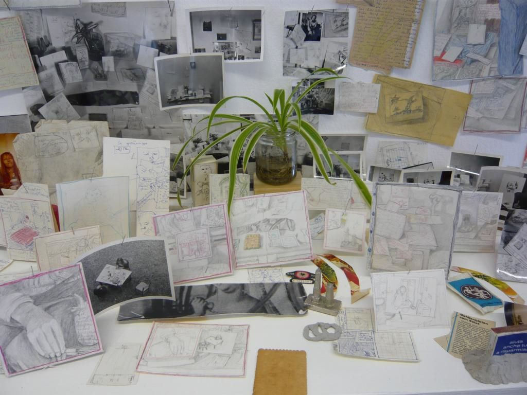 Ausstellungsfoto Kunst und neue Arbeitswelt