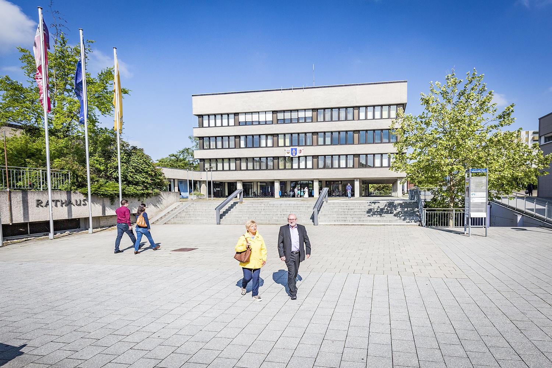 Rathaus Vorplatz