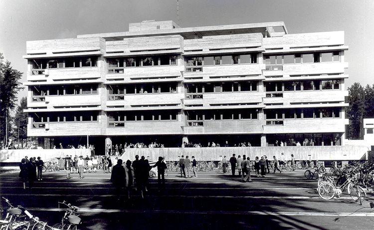 Neubau Der Realschule 1970