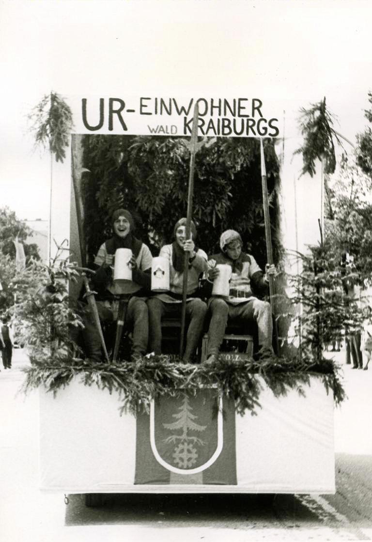 Faschingsumzug 1970