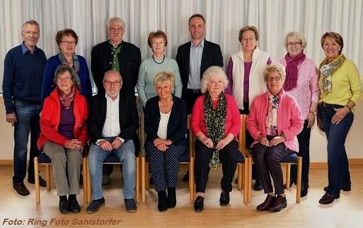 Gruppenfoto des Seniorenbeirats