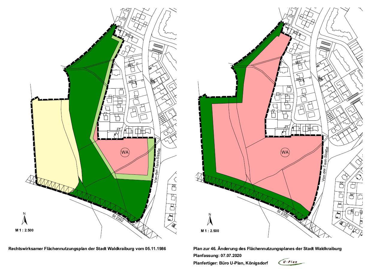 Flächennutzungsplan Nr. 46