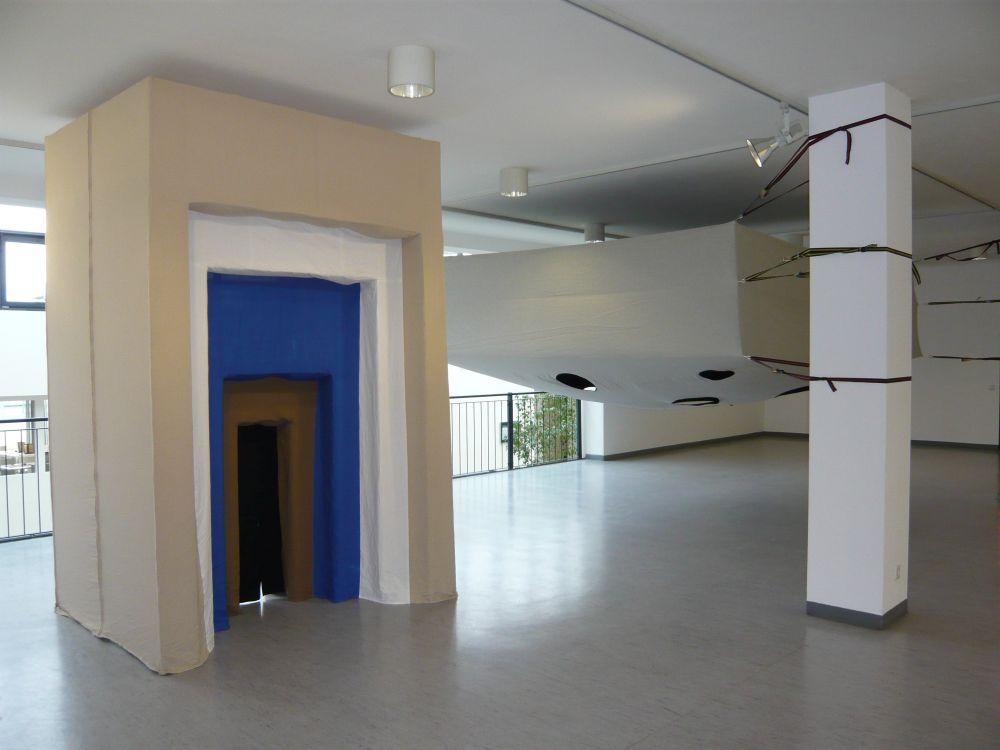 Blick in die Ausstellung von Vincent Tavenne