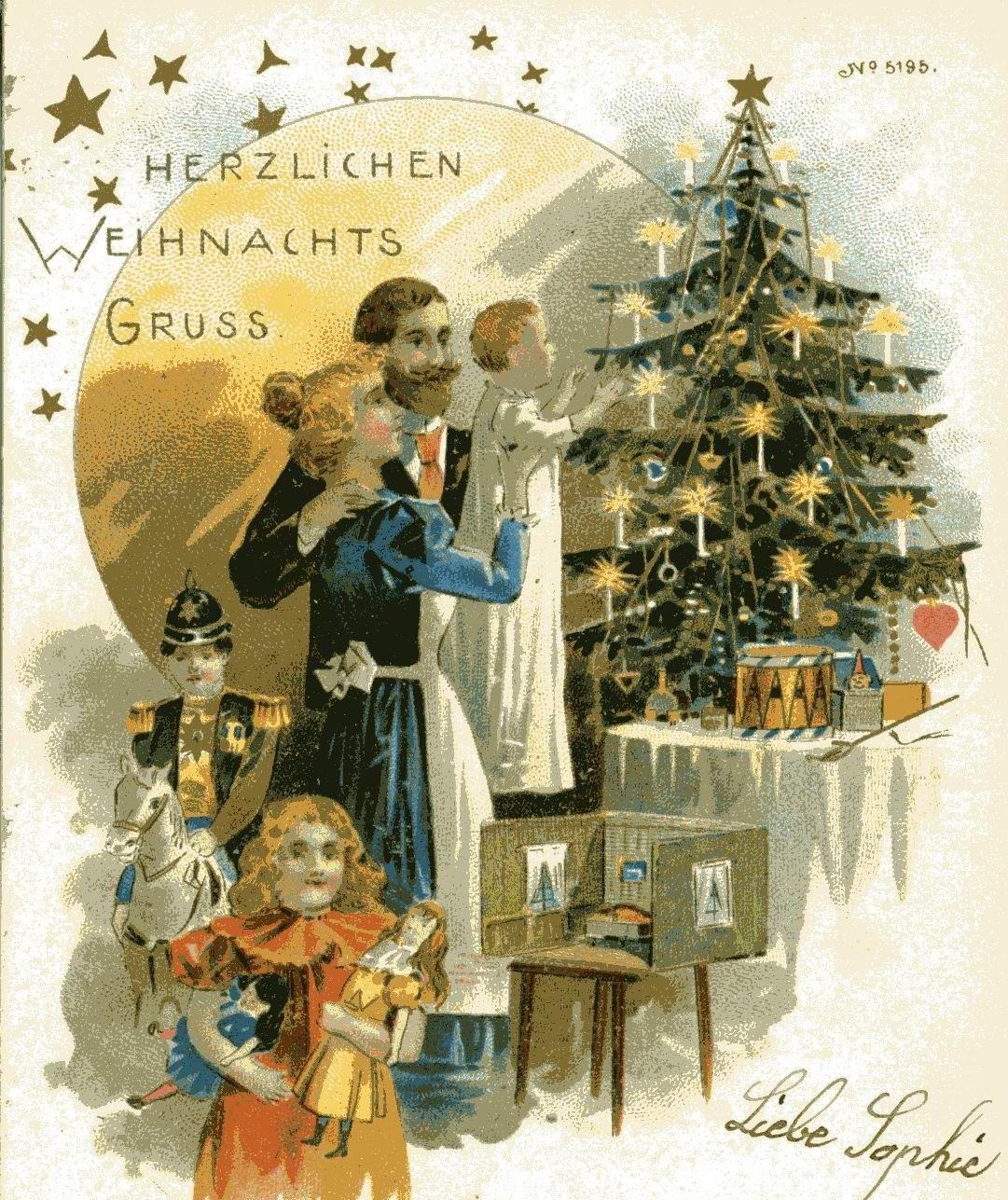 Was früher unterm Weihnachtsbaum lag