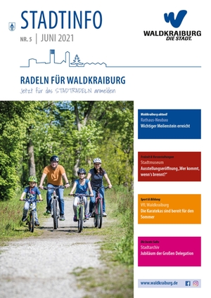 Titelseite Stadtinfo Juni 2021